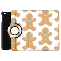 Pattern Christmas Biscuits Pastries Apple iPad Mini Flip 360 Case