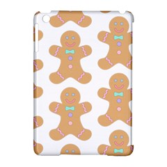 Pattern Christmas Biscuits Pastries Apple iPad Mini Hardshell Case (Compatible with Smart Cover)