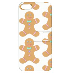 Pattern Christmas Biscuits Pastries Apple iPhone 5 Hardshell Case with Stand
