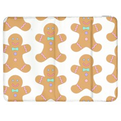Pattern Christmas Biscuits Pastries Samsung Galaxy Tab 7  P1000 Flip Case