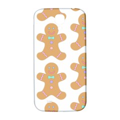 Pattern Christmas Biscuits Pastries Samsung Galaxy S4 I9500/I9505  Hardshell Back Case