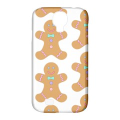 Pattern Christmas Biscuits Pastries Samsung Galaxy S4 Classic Hardshell Case (PC+Silicone)