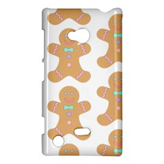 Pattern Christmas Biscuits Pastries Nokia Lumia 720