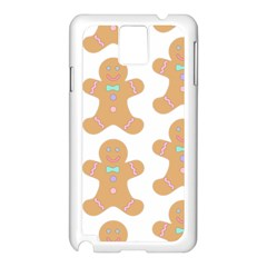 Pattern Christmas Biscuits Pastries Samsung Galaxy Note 3 N9005 Case (White)