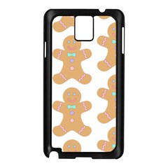 Pattern Christmas Biscuits Pastries Samsung Galaxy Note 3 N9005 Case (Black)
