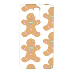 Pattern Christmas Biscuits Pastries Samsung Galaxy Note 3 N9005 Hardshell Back Case