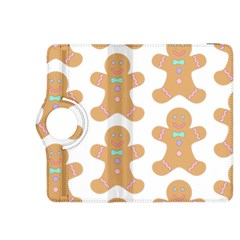 Pattern Christmas Biscuits Pastries Kindle Fire HDX 8.9  Flip 360 Case