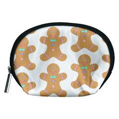 Pattern Christmas Biscuits Pastries Accessory Pouches (Medium)