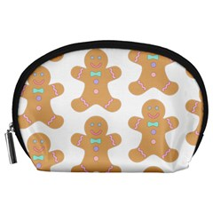 Pattern Christmas Biscuits Pastries Accessory Pouches (Large)
