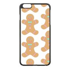Pattern Christmas Biscuits Pastries Apple iPhone 6 Plus/6S Plus Black Enamel Case
