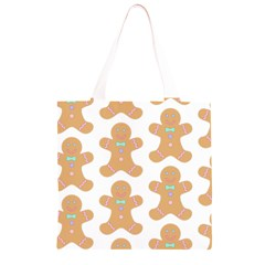 Pattern Christmas Biscuits Pastries Grocery Light Tote Bag