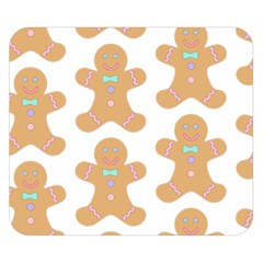 Pattern Christmas Biscuits Pastries Double Sided Flano Blanket (Small)
