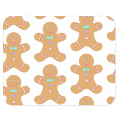 Pattern Christmas Biscuits Pastries Double Sided Flano Blanket (Medium)