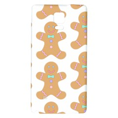 Pattern Christmas Biscuits Pastries Galaxy Note 4 Back Case