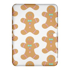Pattern Christmas Biscuits Pastries Samsung Galaxy Tab 4 (10.1 ) Hardshell Case