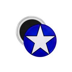Star Background Tile Symbol Logo 1.75  Magnets