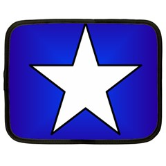 Star Background Tile Symbol Logo Netbook Case (Large)
