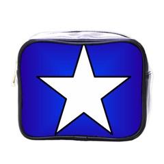 Star Background Tile Symbol Logo Mini Toiletries Bags