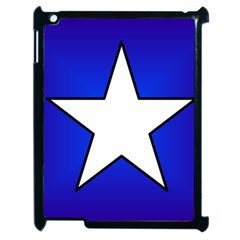 Star Background Tile Symbol Logo Apple iPad 2 Case (Black)