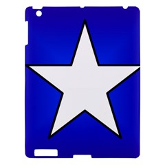 Star Background Tile Symbol Logo Apple iPad 3/4 Hardshell Case