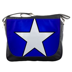 Star Background Tile Symbol Logo Messenger Bags