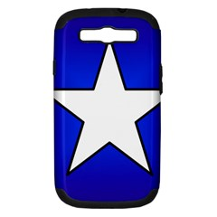 Star Background Tile Symbol Logo Samsung Galaxy S III Hardshell Case (PC+Silicone)