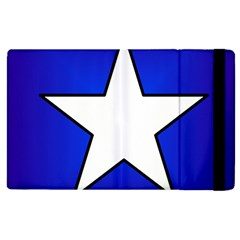 Star Background Tile Symbol Logo Apple iPad 2 Flip Case