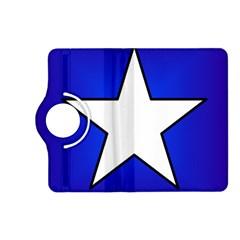 Star Background Tile Symbol Logo Kindle Fire HD (2013) Flip 360 Case