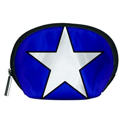 Star Background Tile Symbol Logo Accessory Pouches (Medium)