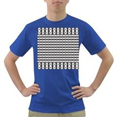 Pattern Background Texture Black Dark T-Shirt