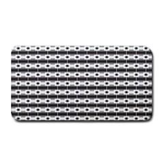 Pattern Background Texture Black Medium Bar Mats