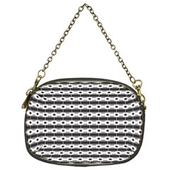 Pattern Background Texture Black Chain Purses (One Side)