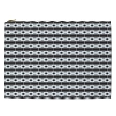 Pattern Background Texture Black Cosmetic Bag (XXL)