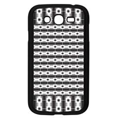 Pattern Background Texture Black Samsung Galaxy Grand DUOS I9082 Case (Black)