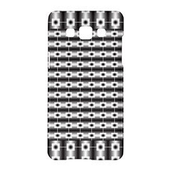 Pattern Background Texture Black Samsung Galaxy A5 Hardshell Case