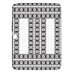 Pattern Background Texture Black Samsung Galaxy Tab 3 (10.1 ) P5200 Hardshell Case