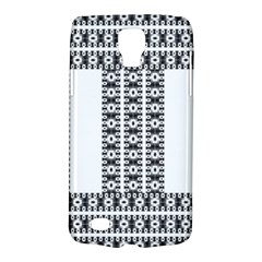 Pattern Background Texture Black Galaxy S4 Active