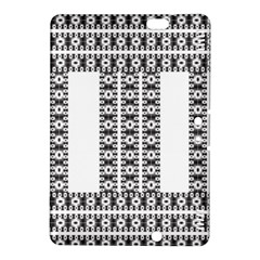 Pattern Background Texture Black Kindle Fire HDX 8.9  Hardshell Case