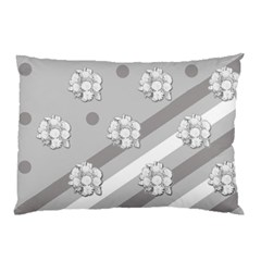 Stripes Pattern Background Design Pillow Case (Two Sides)