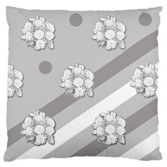 Stripes Pattern Background Design Large Cushion Case (Two Sides)