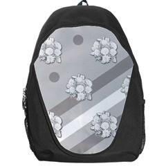 Stripes Pattern Background Design Backpack Bag