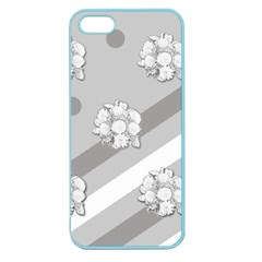Stripes Pattern Background Design Apple Seamless iPhone 5 Case (Color)