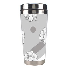 Stripes Pattern Background Design Stainless Steel Travel Tumblers