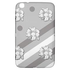 Stripes Pattern Background Design Samsung Galaxy Tab 3 (8 ) T3100 Hardshell Case