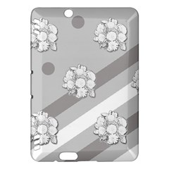 Stripes Pattern Background Design Kindle Fire HDX Hardshell Case