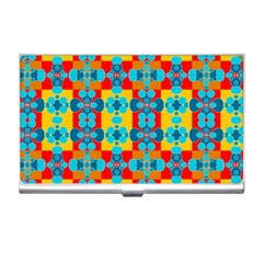 Pop Art Abstract Design Pattern Business Card Holders