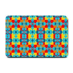 Pop Art Abstract Design Pattern Small Doormat