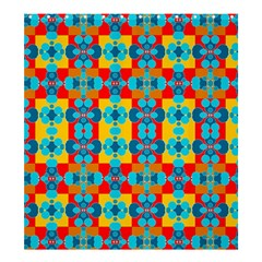 Pop Art Abstract Design Pattern Shower Curtain 66  x 72  (Large)