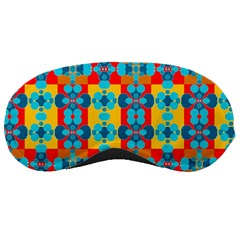 Pop Art Abstract Design Pattern Sleeping Masks