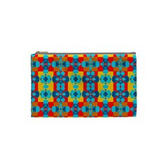 Pop Art Abstract Design Pattern Cosmetic Bag (Small)